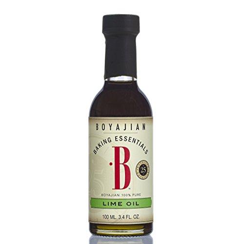 - Boyajian Pure Lime Oil, 3.4 Fluid Ounce