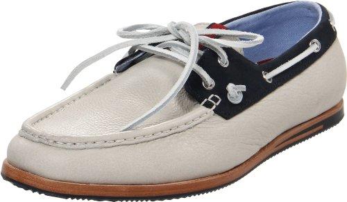 Ben Sherman ADAM LEATHER BN110109 - Zapatos clásicos de cuero para hombre Blanco