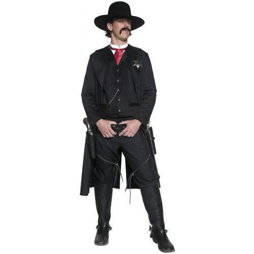 Smiffys Deluxe Authentic Western Sheriff Costume