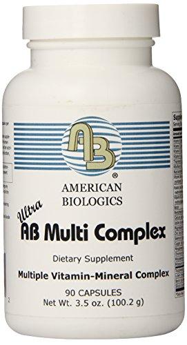 American Biologics Updated Ultra AB Multi Complex Capsules, 90 Vegetarian Capsules