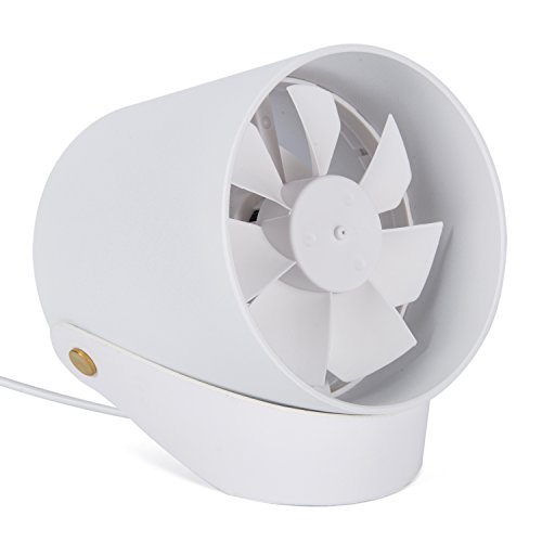 Mini USB Powered Desk Fans,UBaymax Creative Quiet Desktop Small Fan With  Touch Control Table