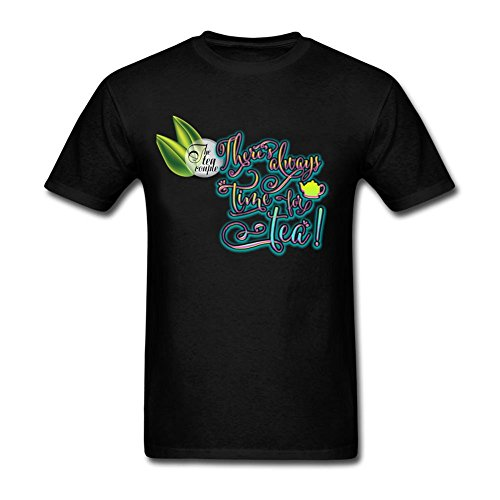design-tee-adult-man-the-tea-quotes-t-shirt-100-cotton-tee-tops-black-s