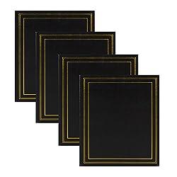 DesignOvation Traditional Photo Albums, Set of 4