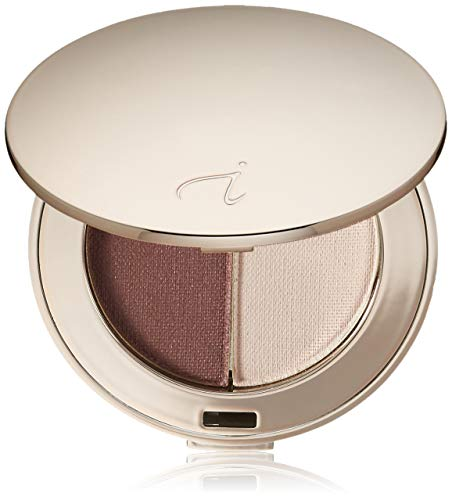 jane iredale Purepressed Eye Shadow Duo, Berries & Cream, 0.100 ()