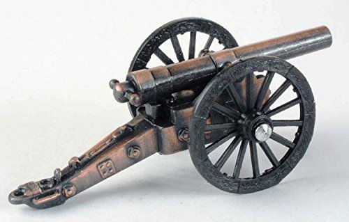 Army Field Cannon Die Cast Metal Collectible Pencil Sharpener