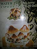Ceramic Mushroom Theme Dispenser