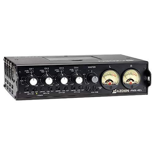 Azden Power Supply - Azden FMX-42A 4-Channel Microphone Field Mixer