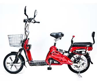 Motor Electric Bicycle x 2Adult Seats+pedal+battery 20 Mile (Model: Class2) Red by Green Power ebike   B005Q6YRW0