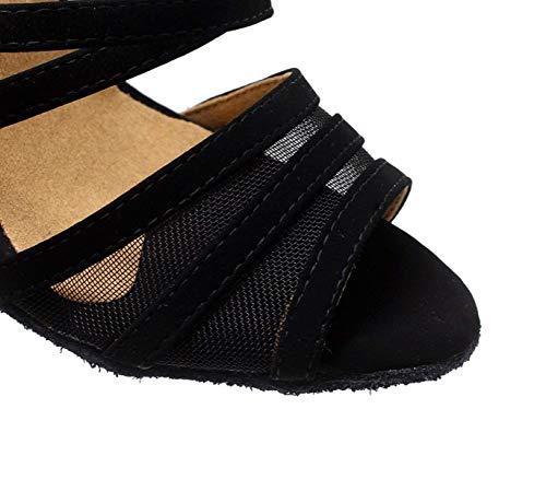 chaussures Yingsssq 5cm Noirs8 Talons Pour Femmes Latine Jazz Salsa À Sexy De Chaussures Hauts Eu39 uk6 chacha modernes Our40 samba Danse tango rZqT4r7U