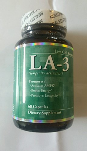 (LA-3 AMPK Activator Boost energy Promote Longevity,60 capsules)