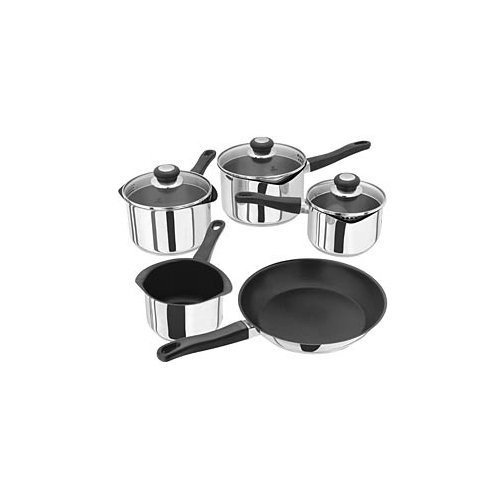 Judge J3C1E Saucepan Set, Silver, 5-Piece