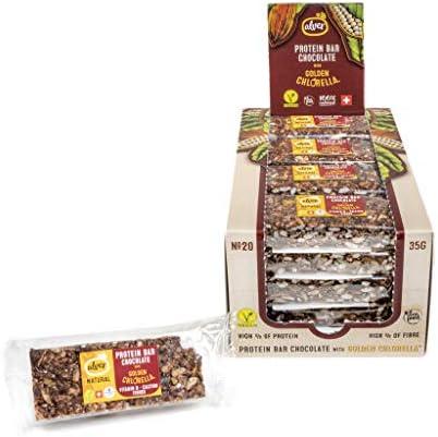 Alver BIO Protein Riegel mit Schokolade - 20 Stck. Box