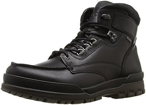 ECCO Men's Track 6 Gore-Tex Moc Toe High Winter Boot, Black/Black, 45 EU/11-11.5 M US - Gore Tex Slip