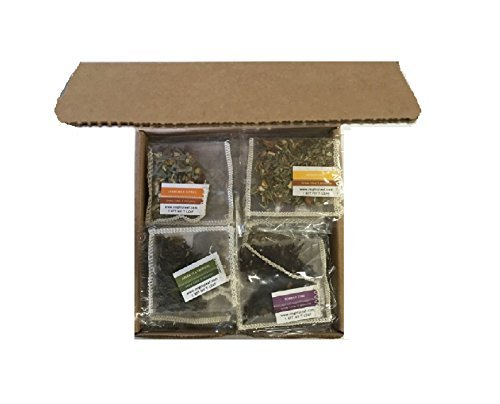 Dragon Detox Tea (Mighty Leaf Variety Pack, 15 Different Flavors, 30 Count)