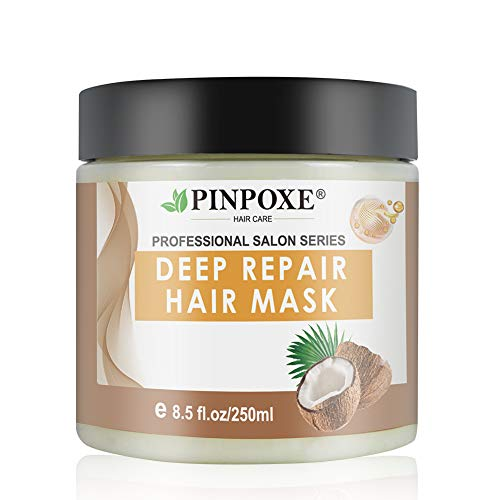 Hair Mask, Hair Treatment, Hair Conditioner, Deep Conditioner, Hydrating Argan Oil Hair Mask, Restores Dry & Damaged Hair, Hair Detoxifying Hair Mask Deep Conditioner Molecular Hair Roots Treatment