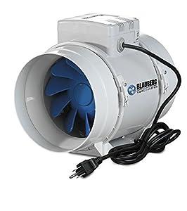 "Amazon.com: Blauberg Inline Mixed Flow Fan 4"" 62-105 CFM"