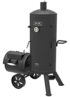 Dyna-Glo Signature Series DGSS1382VCS-D Heavy-Duty Charcoal Smoker & Grill by Dyna-Glo