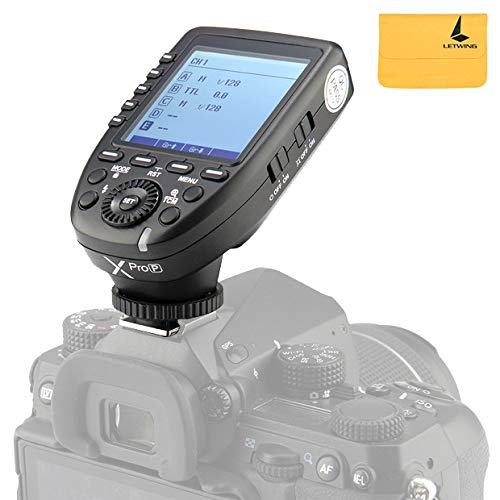 Godox XPro-P TTL Flash Trigger Transmitter 2.4G Wireless 1/8000s HSS for PENTAX Cameras K-1 645Z K70 K50 KP K-S2 K-3II