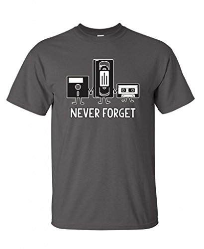 Never Forget Funny Retro Guys