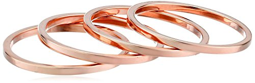 Knuckle Stacking Phantom Jewelry rose gold plated base