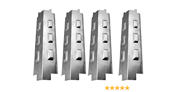 4-Pack GD4825S 463441312 GD4205S-M, Stainless Steel Heat Shield Master Forge GD4825 GD4833 /& Nexgrill 6400-122390-115