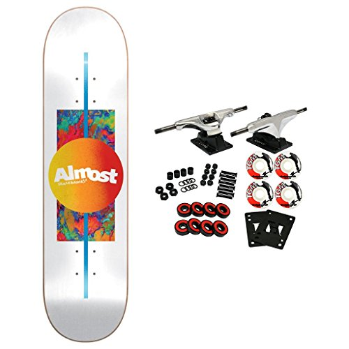 (Almost Skateboard Complete Gradient White 8.0