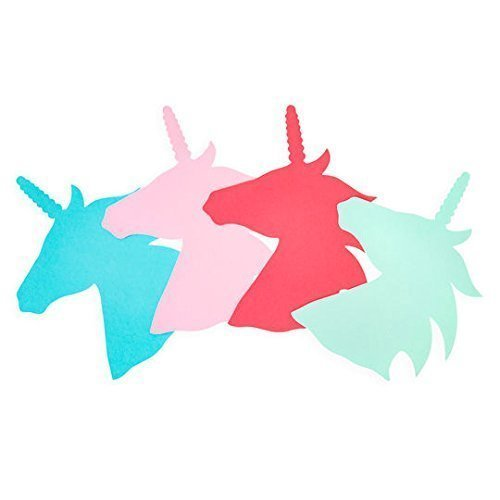 DIY, Unicorn Paper Cut Outs, crafts, Invitations, Party Supplies, Scrapbooking from HappyPeople
