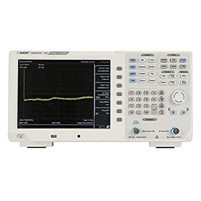 Ffzhushengmy Measurement Tester Digital Meter XSA1015-TG Spectrum Analyzer Oscilloscope Kit 9kHz -1.5GHz 10.4 TFT LCD Tracking Generator 100-240V Oscilliscop