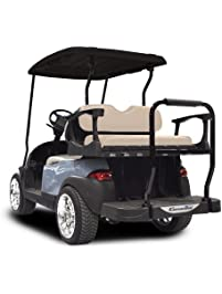 Golf cart accessories amazon golf rear seat with standard buff cushions club car precedent 2004 publicscrutiny Image collections