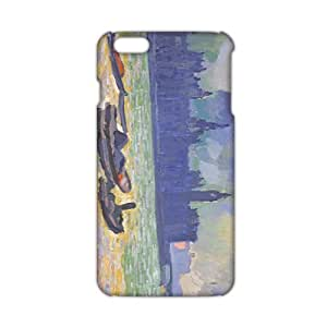 Evil-Store Sea scenery Painting 3D Phone Case for iPhone 6 plus