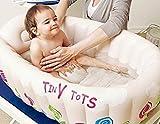 LanLan Portable Inflatable Baby Bath Tub Kids Bathtub Thickening Folding Washbowl Children Tub Baby Swimming Pool for Baby