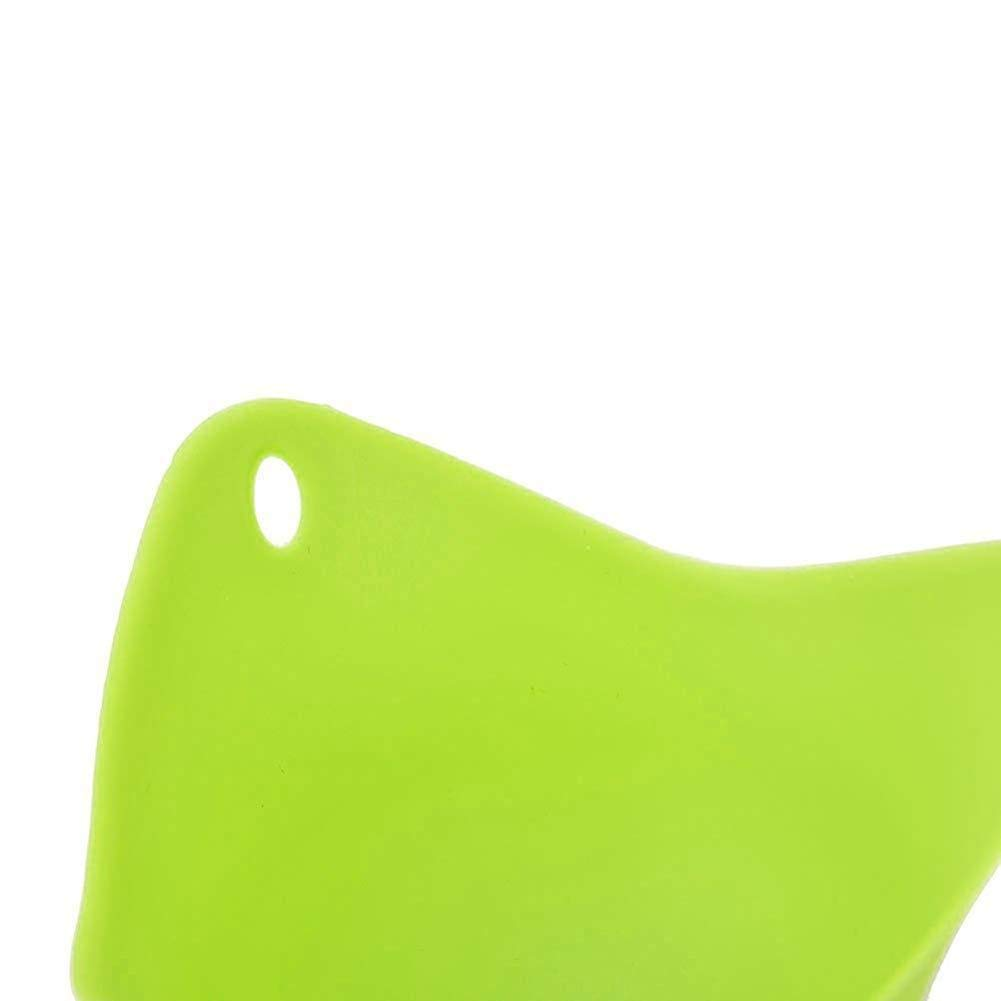 Sungpunet 4 Pz Silicona Huevo Caza furtiva vainas Verdes Hornear Poach Molde para Utensilios de Cocina de decoraci/ón del hogar