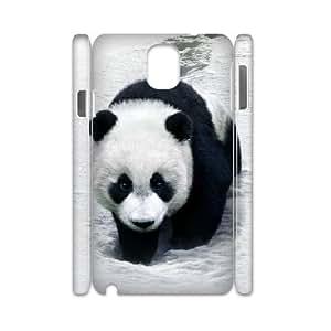3D Samsung Galaxy Note 3 Case,Panda Hard Shell Back Case for White Samsung Galaxy Note 3
