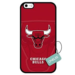 (TCustomized NBA Chicago Bulls Team Logo Design PC Case For Ipod Touch 5 Cover Case CovBlack 02