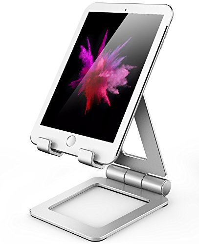 (Hi-Tech Wireless Compatible with iPad Stand, Tablet Stand Holders, Cell Phone Stands, iPhone Stand, Nintendo Switch Stand, iPad Pro Stand, iPad Mini Stands and Holders for Desk)