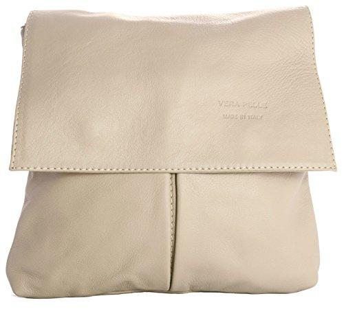 hombro cuero claro Handbag Big One al hombre rosa Shop Bolso de para FxIW1pqfwB