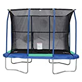 JumpKing 7 x 10 Foot Rectangular Trampoline with Padded Enclosure