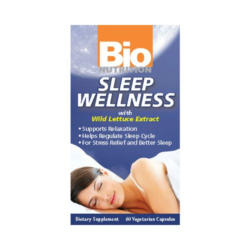 Bio Nutrition Sleep Wellness - 60 Vcaps (Wellness Nutrition Sleep Aid)