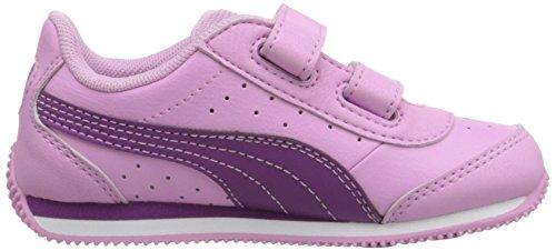 Puma Kids Speed Light Up V Inf Sneaker Pastel Lavender/Hollyhock
