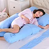 U-shaped Pillow, Full Body And Back Support Maternal Pregnancy Comfort Pillow, Nursing Maternal Maternity Pillow (Color : I)