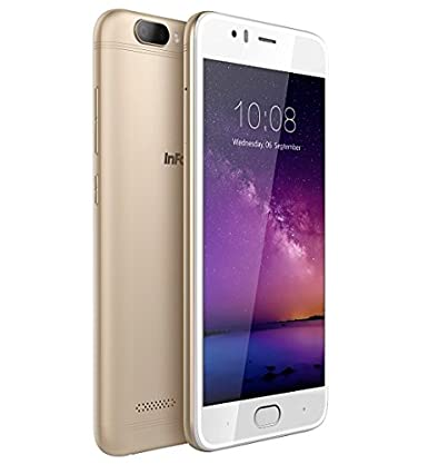 InFocus A3 (Platinum Gold) Smartphones at amazon