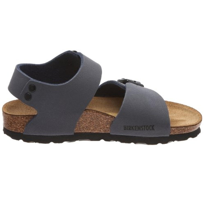 Birkenstock New York Birko-Flor, Style-No. 87003, Children Sandals, Navy Nubuk, EU 24, slim width