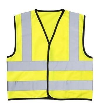 86f33e67af98 High Visibility (Hi Vis) Childrens Safety Vest Waistcoat Jacket ...