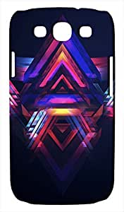 Generic Abstract Colorful Triangle Art Hard Case for Samsung Galaxy S3