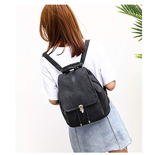 Black Set School Backpack 2Pcs Black Bags for nXwdpw0xq