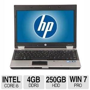 Portatil HP Probook 8440p - Intel iCore i5 2,53 GHz - RAM 4 GB - HD 250 GB - Windows 7 Pro - ricondizionato reacondicionada.: Amazon.es: Informática