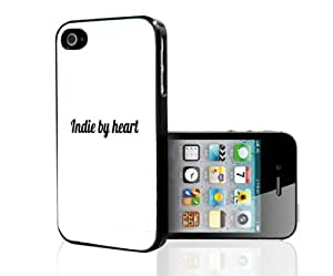 "Black and White Simple Chic ""Indie By Heart"