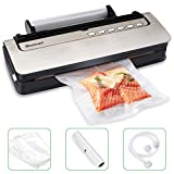 Best Vacuum Sealers - Vacuum Sealer Blusmart 80Kpa Automatic Food Sealer Machine Review