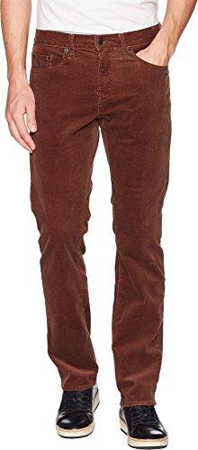 U.S. Polo Assn. Men's Slim Straight Corduroy Pants Brown 33 30