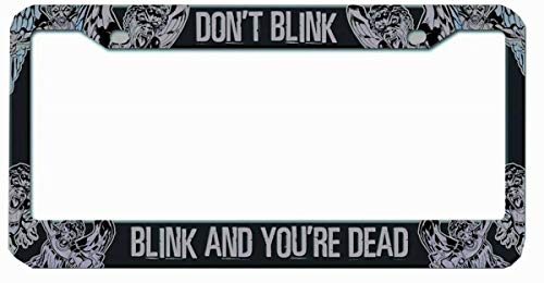 Doctor Who Licence Plate Frame